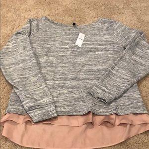White house black market dressy sweater sweatshirt